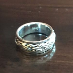 Jewelry - Sterling Silver Spinner Ring